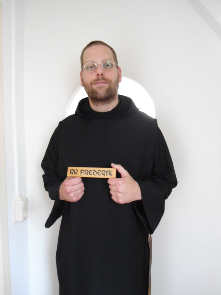 Broeder Frederik Frits Hendriks als monnik
